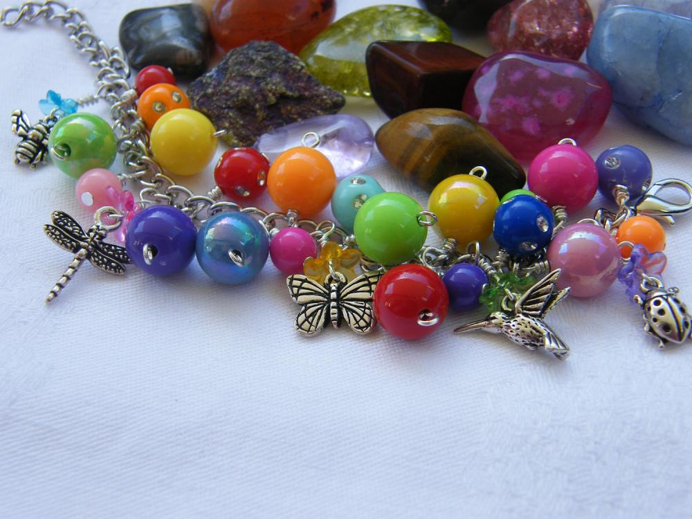 The Birds & The Bees Charm Bracelet